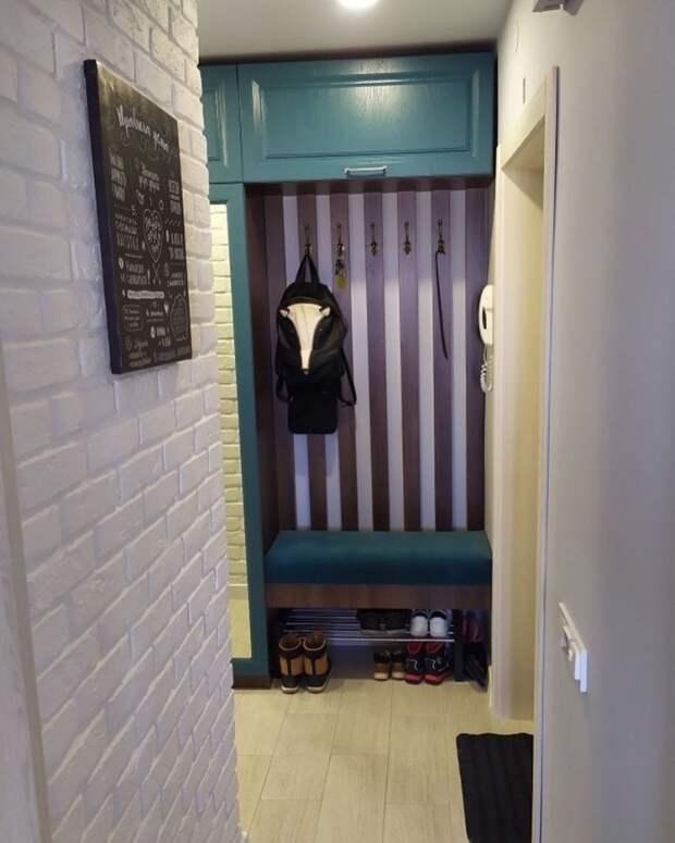 Преображение старой кухни и коридора