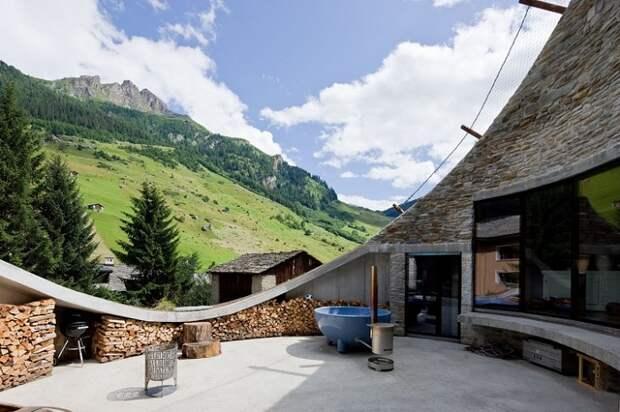 Проект виллы от архитекторов Bjarne Mastenbroek и Christian Mueller.