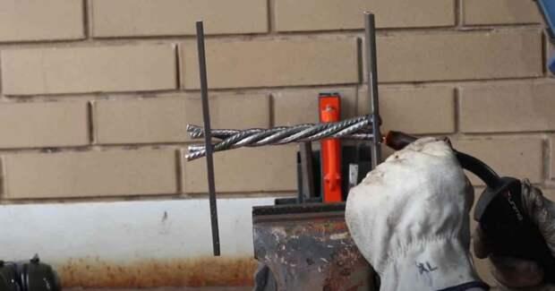 Как сделать металлическую дверную ручку в стиле Loft