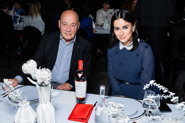 Элеонора Севенард и Денис Родькин, Тина Канделаки, Владимир Познер и другие гости светского ужина в Москве