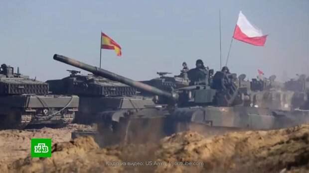 На Балканах стартовали учения НАТО по «проникновению и захвату»