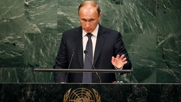 Умеет всё же Путин вставить по самые гланды.... Аж гордость берет