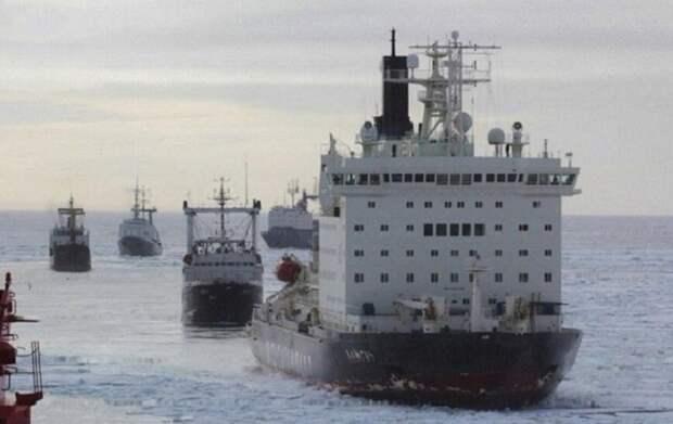 Россия впереди планеты всей в деле освоения Арктики. Все остальные следуют за ней. (фото из открытых источников)
