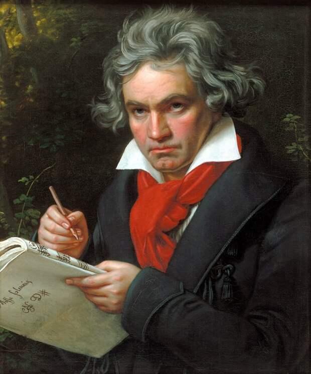 Людвиг ван Бетховен. \ Фото: blog.askwonder.com.
