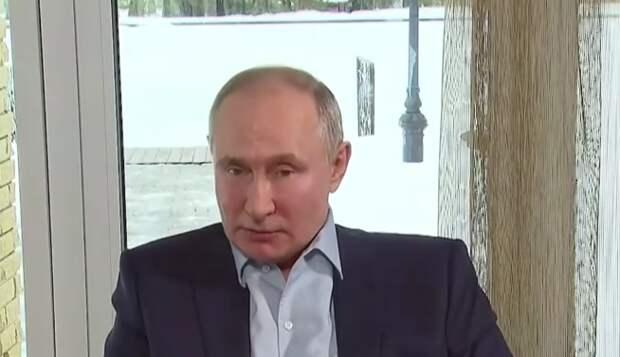 Крымские студенты пообщались с президентом России