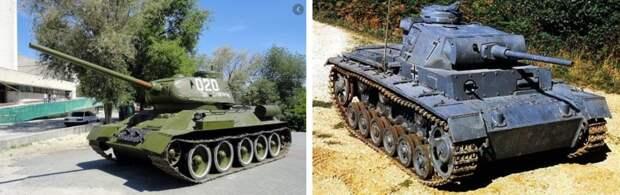 Почему немецкие танки красили в серый цвет, а советские - в зеленый