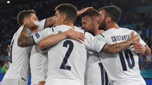 Сборная Италии продлила свою беспроигрышную серию