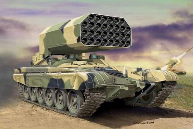 Смертельный «Солнцепек»: в Китае оценили разрушительную мощь российской огнеметной системы ТОС-1А