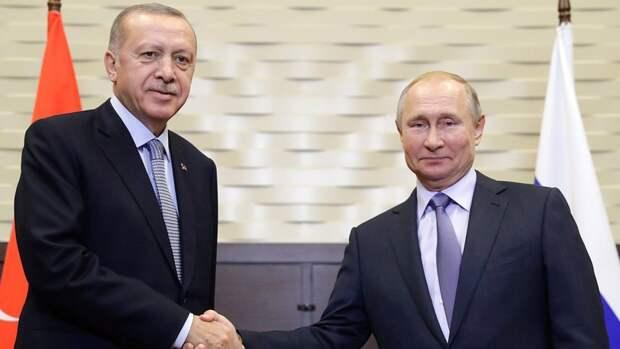 Путин обсудит ситуацию в Ливии с Эрдоганом в ближайшие дни