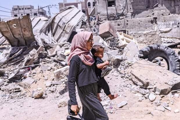 В ночь на понедельник Израиль нанес десятки ударов по Газе