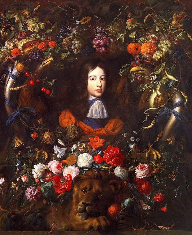 Принц Оранский, портрет кисти Яна ван дер Меера и Яна Давидса деХема.