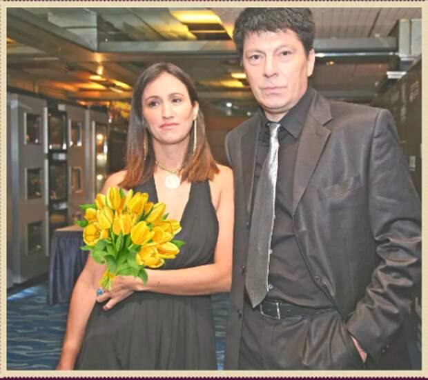 Ринат Дасаев с женой Марией