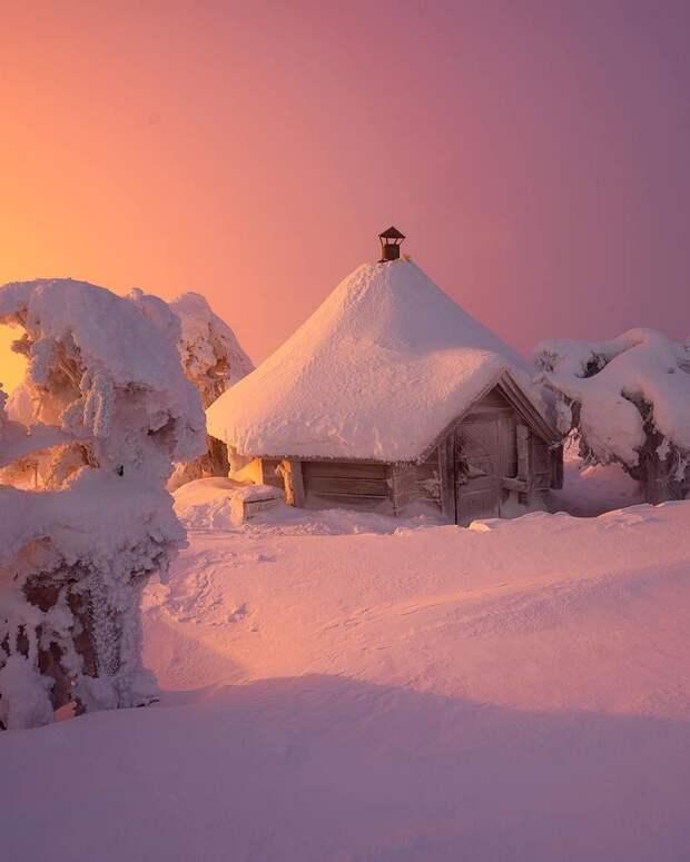 Зимняя сказка на снимках Андрея Базанова