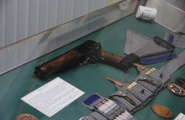 Трехствольный пистолет ТП-82 в Артиллерийском музее Санкт-Петербурга / Фото: was.media.com