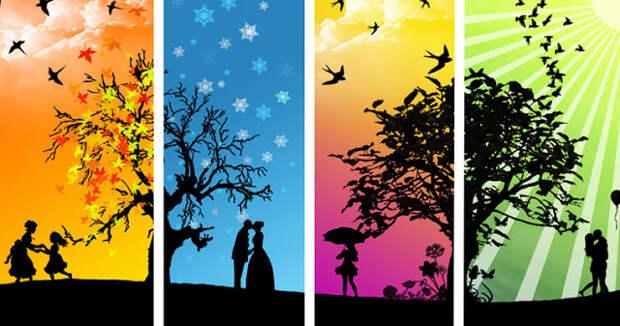 Лучшее время года для того, чтобы влюбиться
