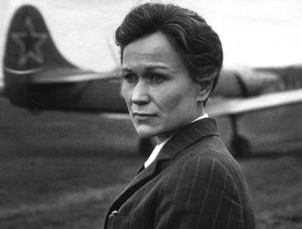 Майя Булгакова в фильме *Крылья*, 1966   Фото: vokrug.tv