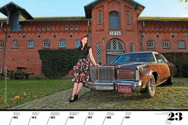 Самый крутой автомобильный календарь для настоящих мужчин 2019 года