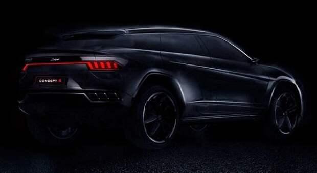 Они не унимаются: китайцы скопировали Lamborghini Urus