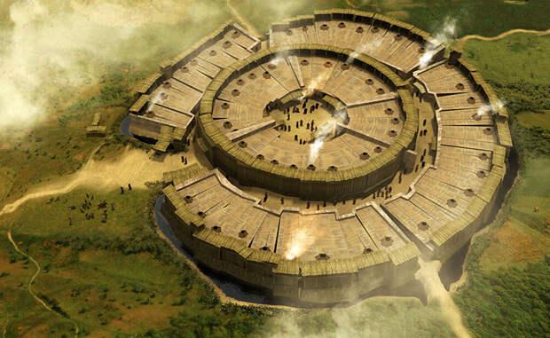 город Аркаим - реконструкция
