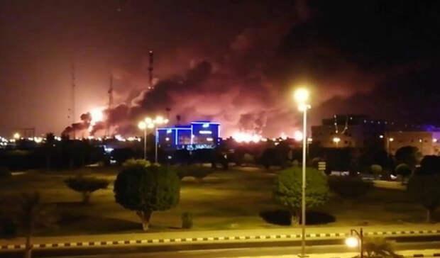 Ракетным ударом выведен изстроя резервуар Saudi Aramco близ Джидды