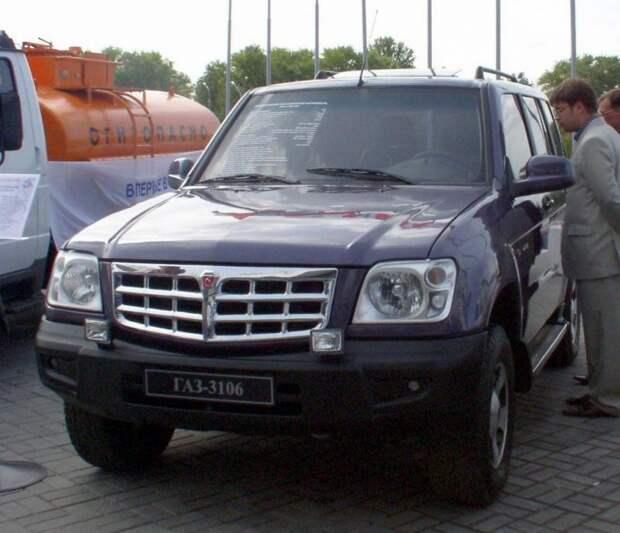Волга ГАЗ-3106 – перспективная разработка, так и не ставшая серийной моделью