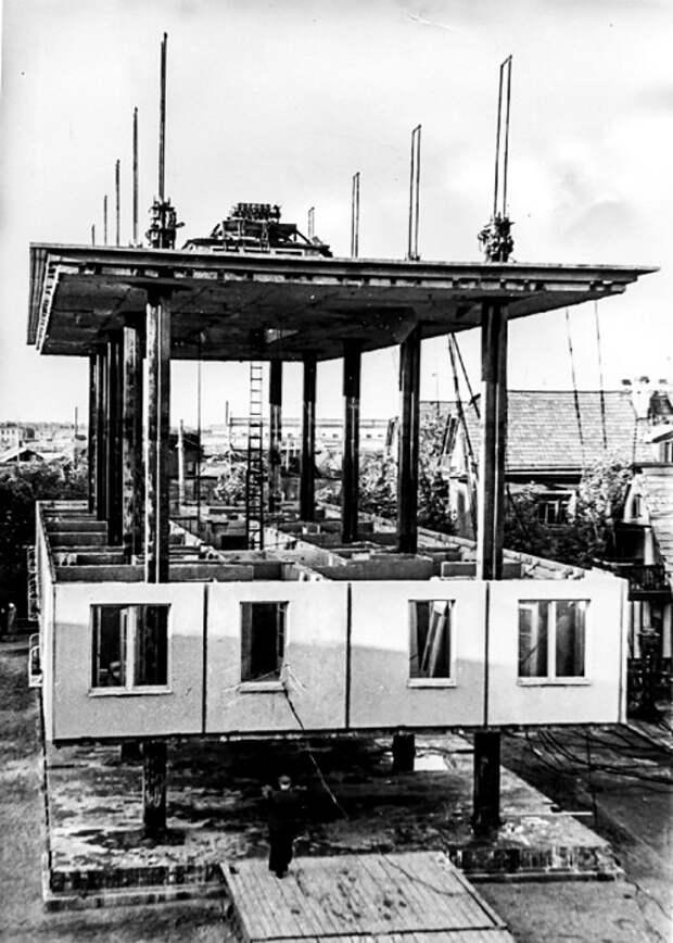 Как в Ленинграде строили дом сверху вниз, и почему эксперимент не получил распространение