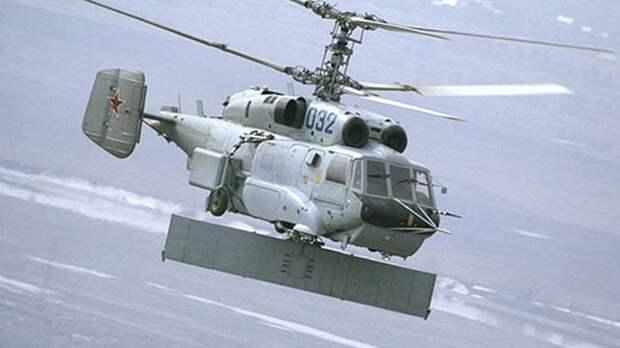 Вертолет радиолокационного дозора Ка-31Р