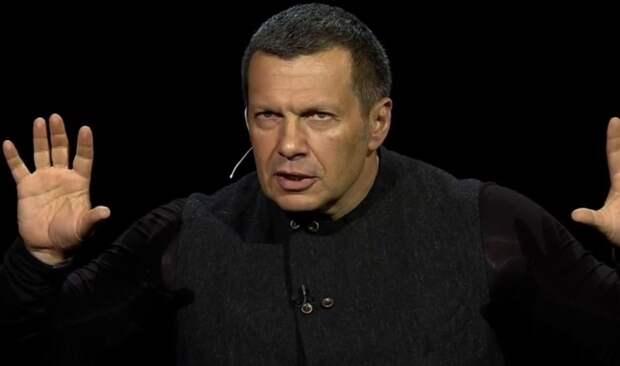 Зачем нам Украина?! – Владимир Соловьёв поругался с донецким экспертом