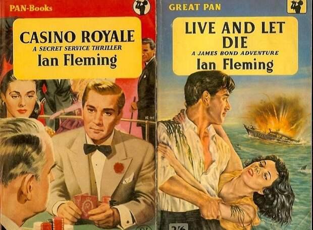 Обложка к книге Я. Флеминга «Джеймс Бонд». | Фото: 1.bp.blogspot.com.