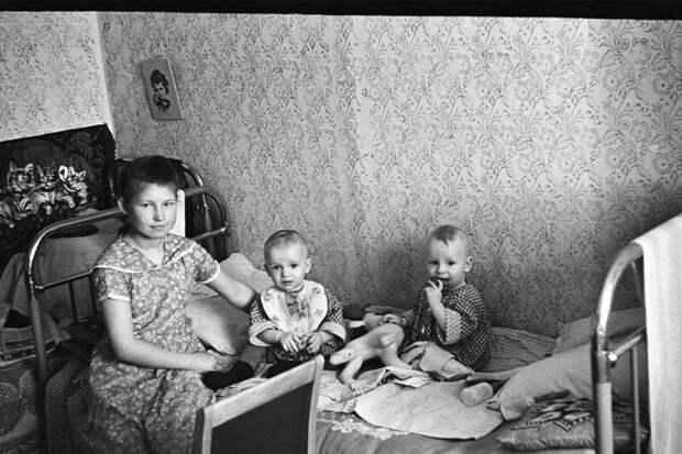 Мурманск, 50-е годы прошлого века.