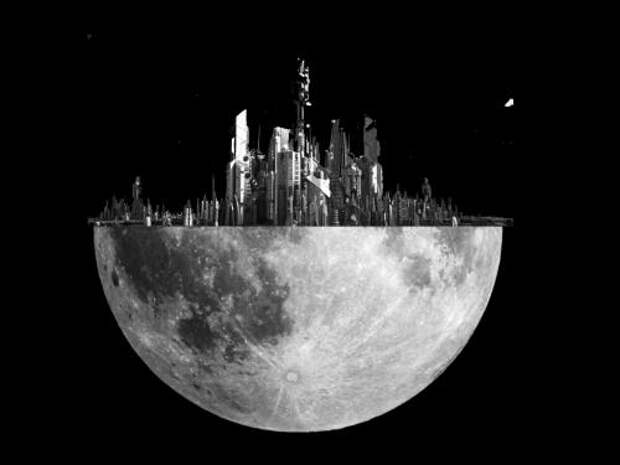 Луна обитаема: Спутник оказался густонаселённой «полусферой» - уфолог