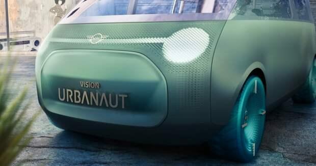 BMW представляет концепт MINI Electric Van.