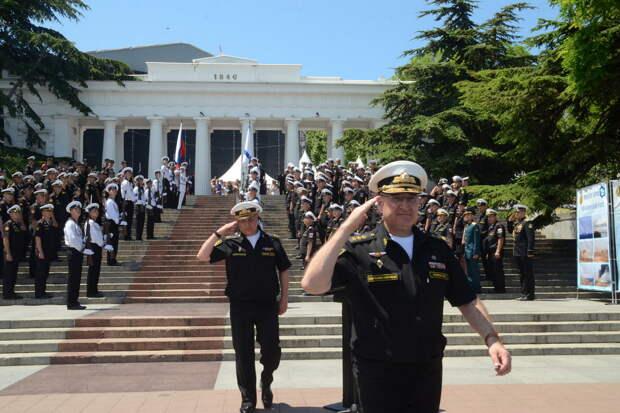 На Черноморском флоте подвели итоги конкурса «Морской Бриз»