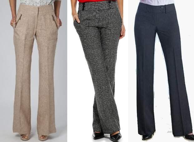 Выкройка женских брюк (Все размеры)