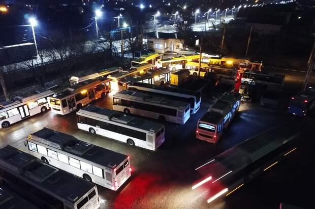 Крым за счет Москвы купит почти 400 новых автобусов