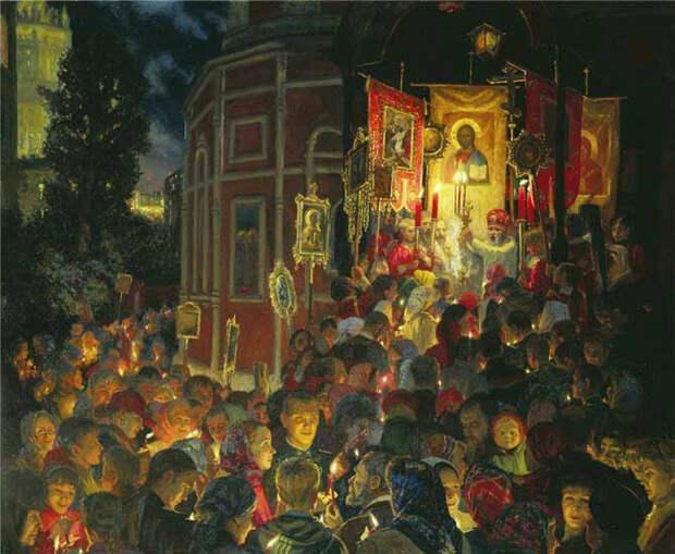 Источник: obiskusstve.com. Юлия Кузенкова «Пасха» (2002)