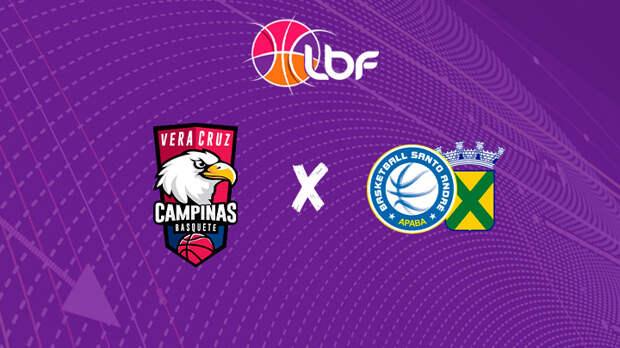 Vera Cruz Campinas x Santo André /APABA - LBF 2021