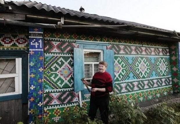 Крышки в дело. Творения российской пенсионерки)