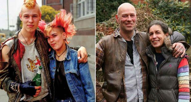 30 лет спустя: фотограф воссоздал старые портреты, снятые в родном городке
