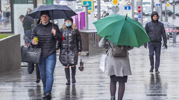Синоптик рассказал о приходе затяжных дождей в ЦФО