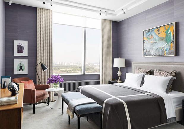 Дизайн квартиры в небоскребе от Сергея Огурцова (160 кв.м)