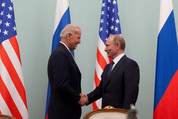 В Белом доме назвали темы переговоров Путина и Байдена