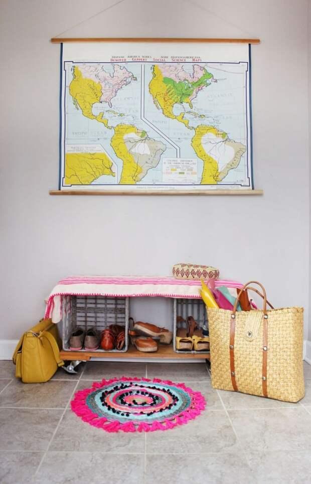 Тканый коврик по-африкански: отличная идея для украшения дома