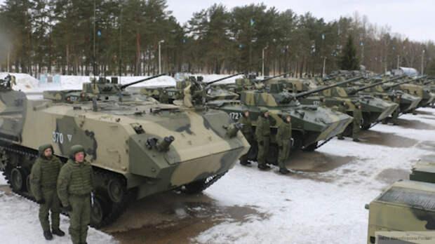 Тульские десантники на учениях применили новейшую боевую машину разведки