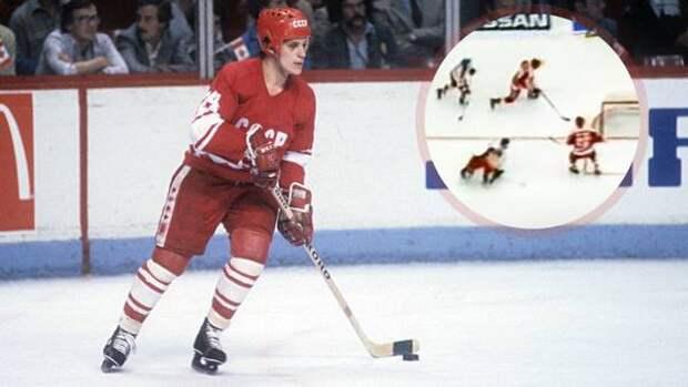 Легендарный гол советского хоккеиста Макарова. Он пробежал всю площадку и усадил на колени великого Гашека: видео