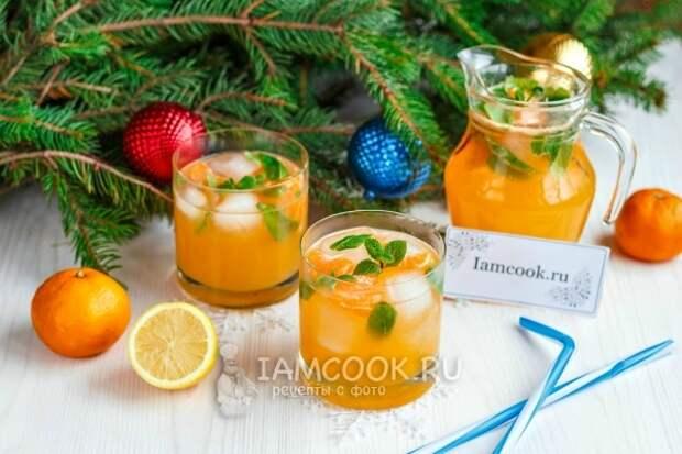 Рецепт мандаринового лимонада в домашних условиях