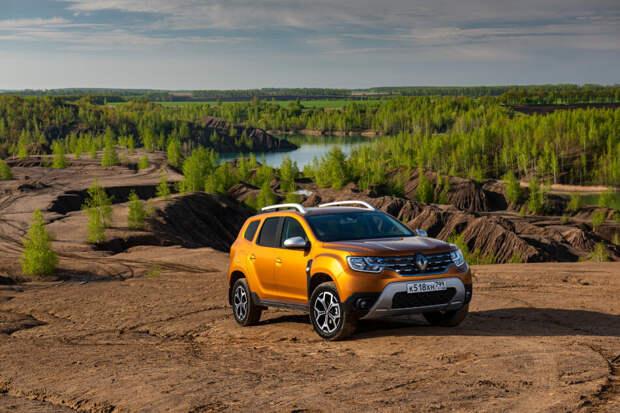 Тест-драйв Renault Duster: что особенного в его вариаторе?