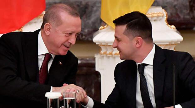 Землю — туркам, бомбы — Донбассу: зачем Зеленский поехал к Эрдогану