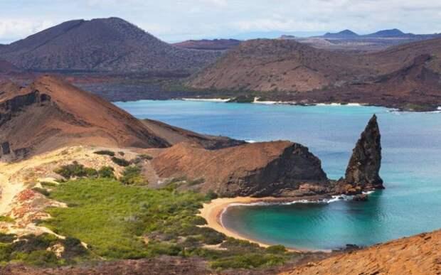 Галапагосский морской заповедник интересное, мир, национальный парк
