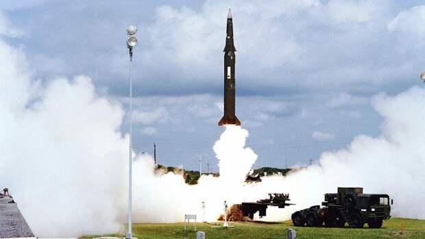 Запуск ракеты «Першинг-2»